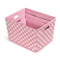 Hot selling large capacity foldable polyester fabric storage box for home storage