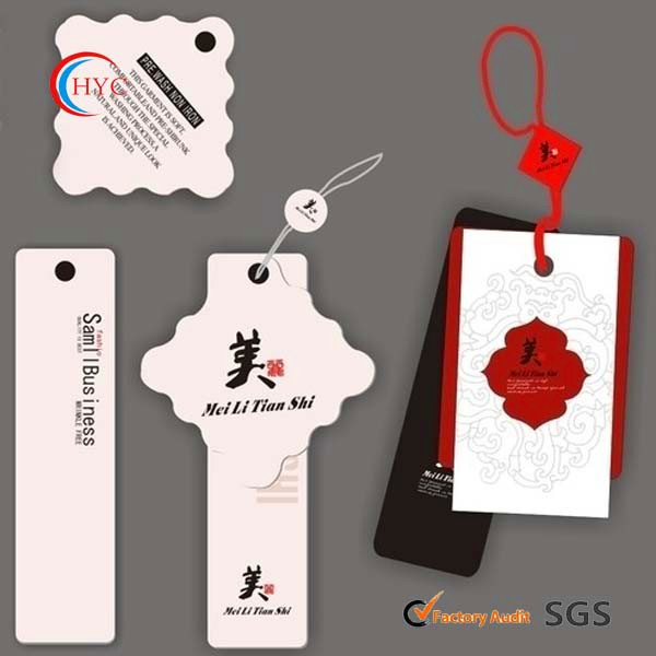 2014 custom made lovely printed furniture hang tags