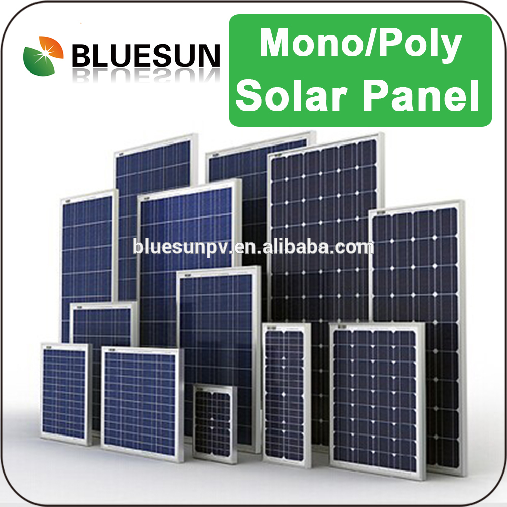 Bluesun best sell high quality mini 30w solar panel 12v for led light