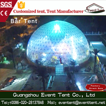 Free design geodesic dome tent