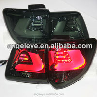 2011 - 2013 Year TOYOTA Fortuner LED Tail Lights Rear Lamp Smoke Black YZ