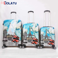 2018 Supplier New Design urban lightweight Polo Trolley Luggage bag with aluminum trolley