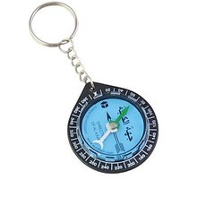 Key Ring Mini Compass for KAABA Positioning / QIBLA Finder with key chain