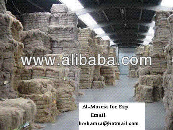 Flax Pulp (Flax Tow) For Paper Used