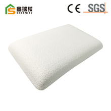 White soft polyester fiber pillow for hotel bedding