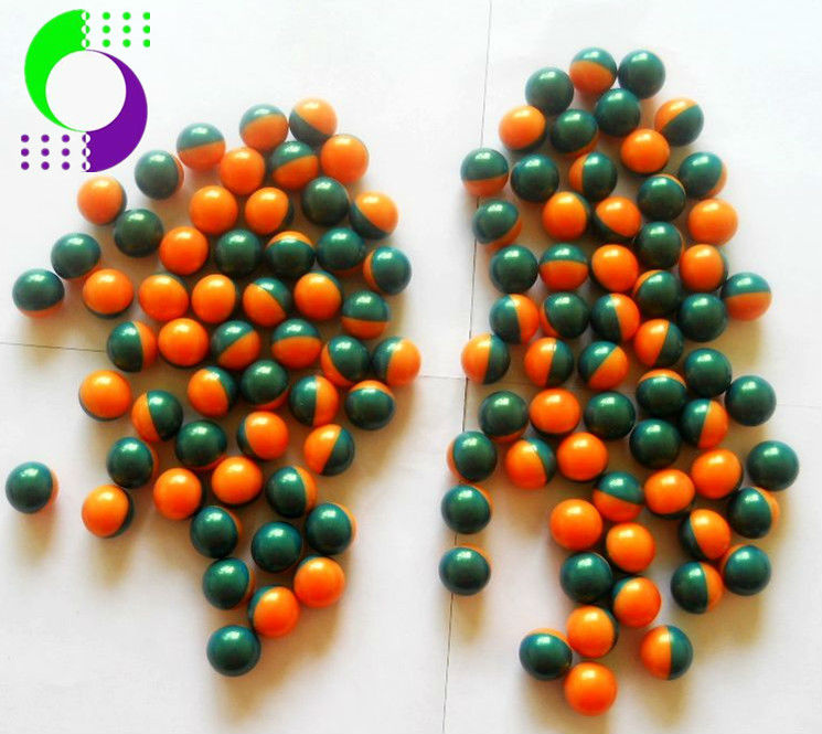 "two-tone,0.68"",2000 pcs,quality paintballs for training from china"
