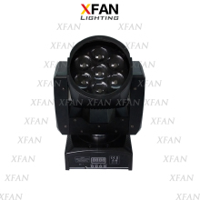 led 7x15W 4-in-1 RGBW with zoom beam wash moving head led stage light