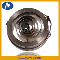 Stainless steel flat coil clock mainsprings