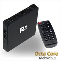 Google Android 5.1 Smart Tv Box RK3368 A53 Wifi A/C support H.265 HD 2.0 mini pc Octa Core TV Box