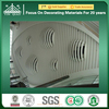 GRG Decorative Curved Acoustic Sound Reflective Ceiling Panel Designs