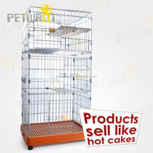 Export goods collapsible dog crates pet cage for cheap sale