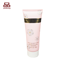 Free sample 120ml body lotion cosmetic packaging soft tubes