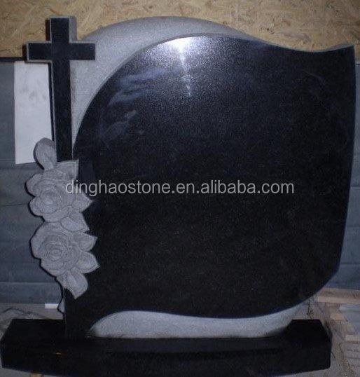 Free Sample Nature China Black Cheap Headstone