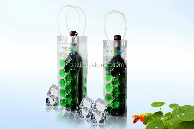Gel Ice pack Wine Cooler, Wine Bottle Gel Cooler Bags, Wine Cooler