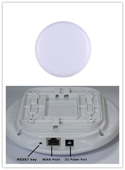 OEM ceiling wifi access point directly provided by factory, 300Mbps support MIMO and bridge and cloud management