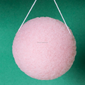 100% Natural Wet carbon Konjac Sponge for face cleaning Beauty Product