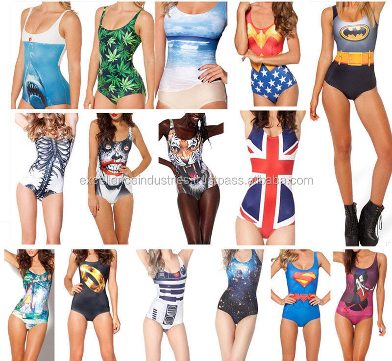 2014 top designer Custom sublimation one piece swimsuit for women, adult high quality swimsuits swimwear wholesale