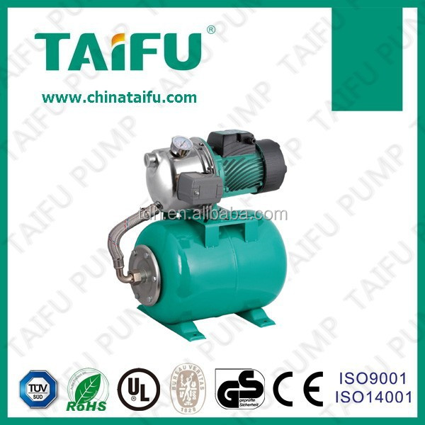 SGJ automatic garden water pump with tank
