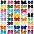 5 Inch Solid Color Knot Hair Bows Wholesale HBW-1612221-L