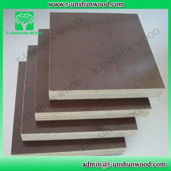 Anti Slip Timber Film Faced Plywood Poplar Core in Low Price