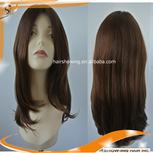 silk top base type virgin European hair kosher jewish wig
