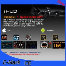 2014 new hud head up display car automobile ihud projector on the windshield