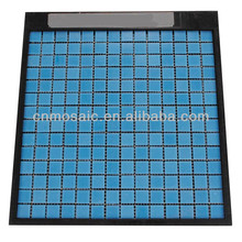 2014 new trend glass mosaic tile for bathroom