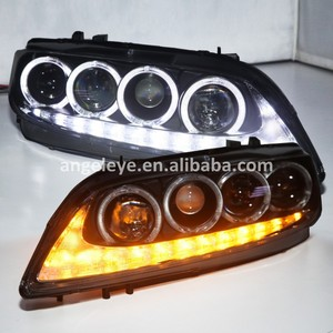 2003 to 2011year For MAZDA 6 LED Head Lamp Angel Eyes Front lights headlight with DRL function JC