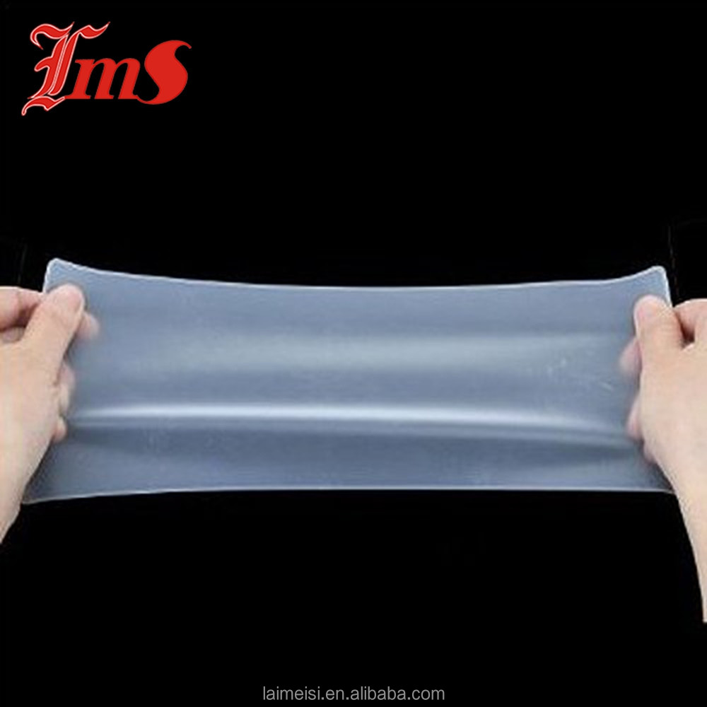 Anti-slip Tensile High Transparent Silicone Membrane Rubber Sheet