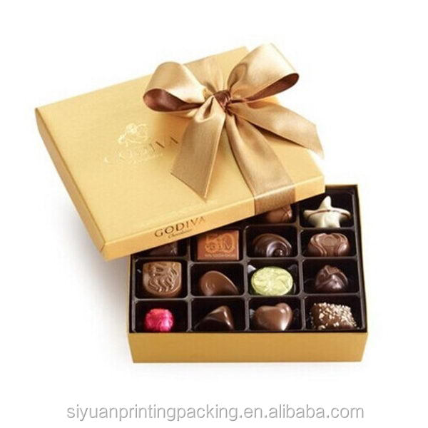 Excellent quality Best-Selling chocolate box with pet tray