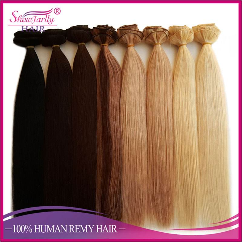 Alibaba shop online human hair one piece clip in hair extensions for white women all color available