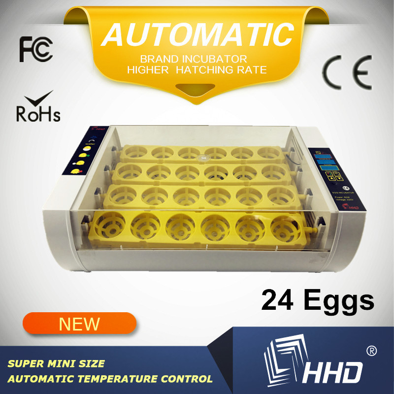 Automatic CE approved quail egg hatcher HHD cheap big incubator for sale
