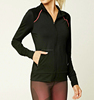 Custom wholesale womens fashion running jacket pullover