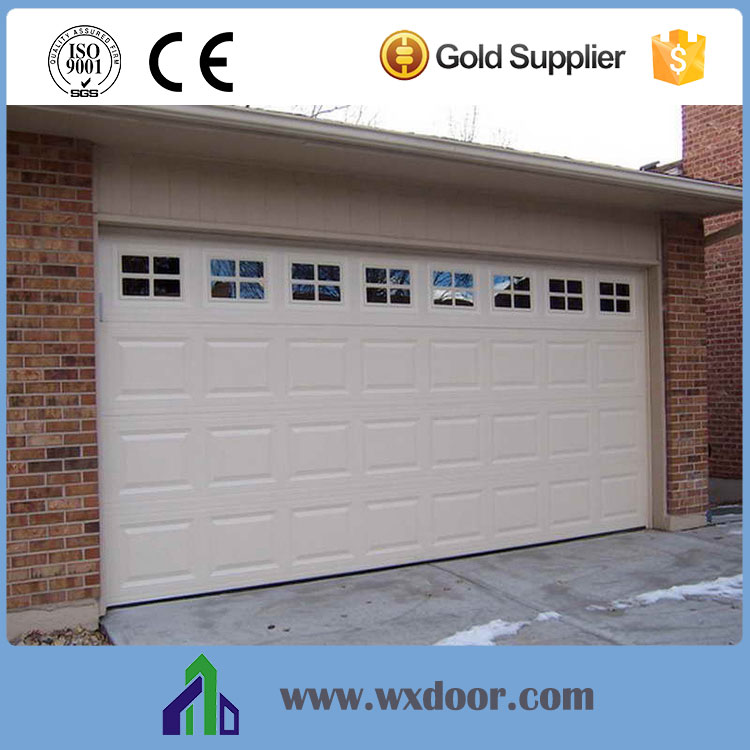 Cheap low noise garage doors with windows sales buy for Garage windows for sale