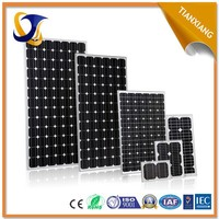 used in outdoor or solar street light 80w amorphous solar panel price