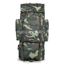 High Quality Camping Hiking Male Camo Rucksack Backpack for traveling