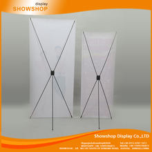 Best selling x type banner stand size stands for trade shows