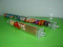 Clear Plastic Gift Stones packing tubes PVC PET PETG PP