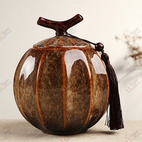 TG-407J233-Y-S best quality factory cheap coffins wooden cremation urn made in China small urns for human ashes uk supplier