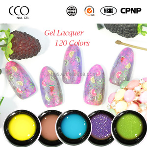 CCO Factory Soak off UV LED Color 8G lacquer nail polish base Color Gel UV Gel Lacquer