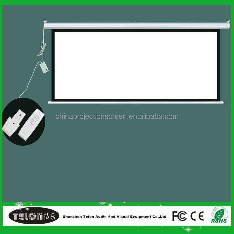 2016 New design rear projection screen film/transparent rear projection film with matte white