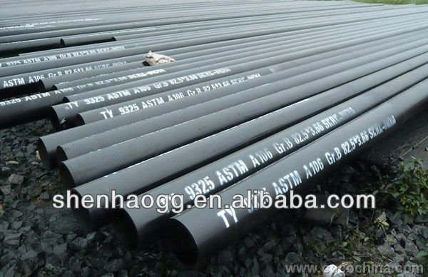 ASTM A53 carbon steel pipe/spiral steel tube
