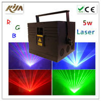 5W RGB Full Color Animation Laser Light 5000mW Big Dipper Laser Light