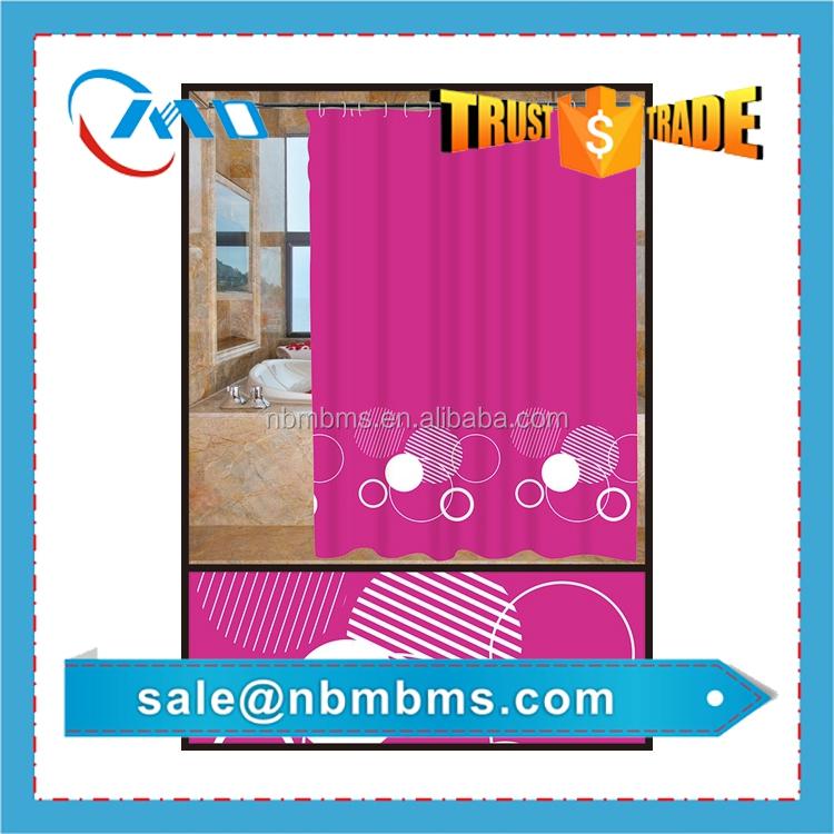 Peva Waterproof Shower Curtain Peach Color Buy Shower Curtain Peach Color P