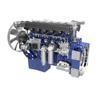 6cylinders water cooling weichai diesel engine WP13.500E501 for truck