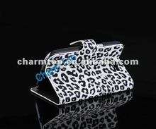 Leopard Pattern Leather Case For Samsung Galaxy Note2 N7100