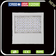 Meanwell driver cree or bridgelux chip 120W recessed led canopy gas station lights