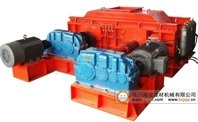 Hydraulic double rollers crusher, used roll crusher, granule crusher