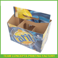 Dongguan paper carton cardboard box for beer