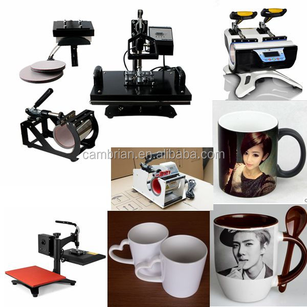 Mug,plate,t-shirt portable digital mug heat press machine with LCD control panel
